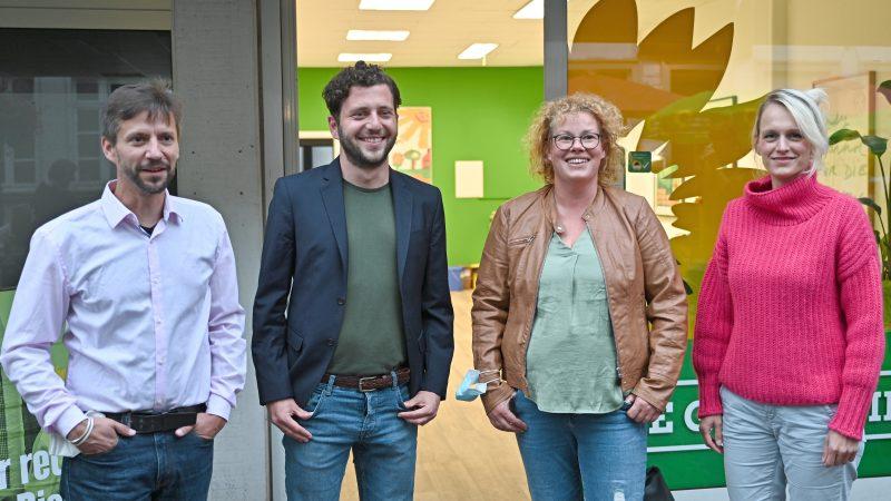 Grüner Ortsverband in Goch mit neuem Büro